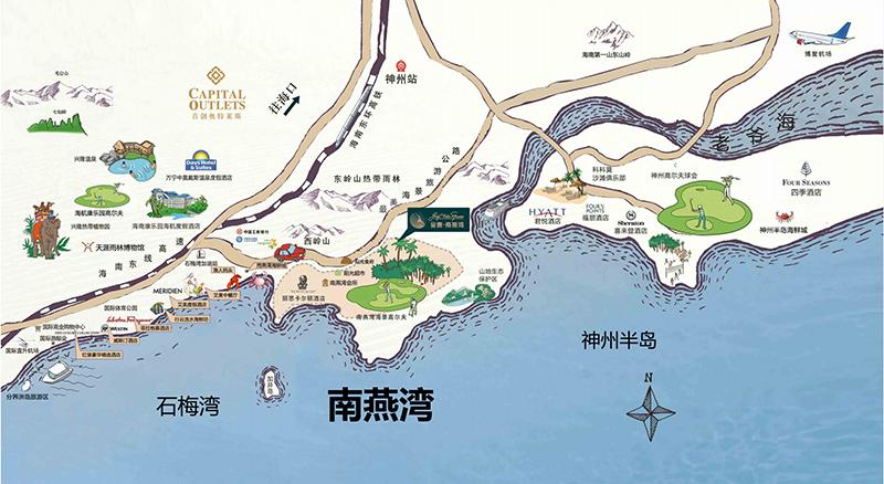 金泰·南燕湾-区位图