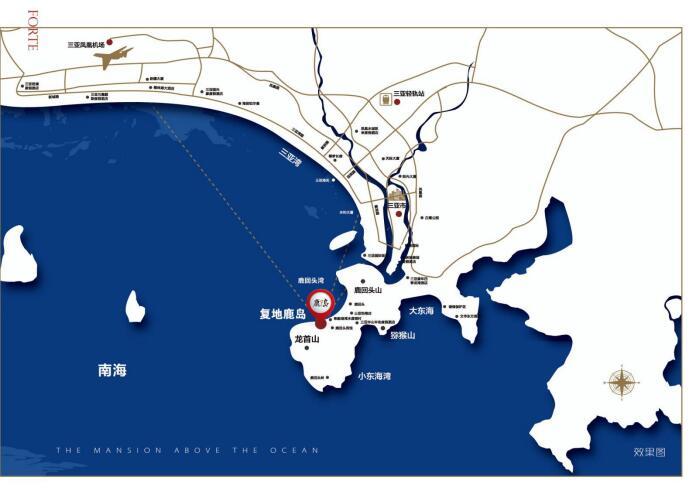 复地鹿岛区位图