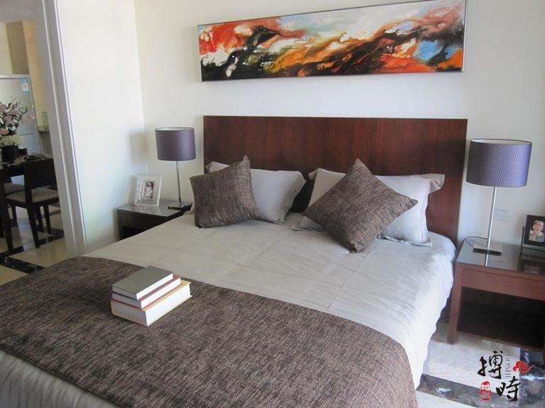 三期瀚海公寓A'户型 卧室