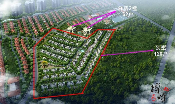 清水湾3号楼盘规划图