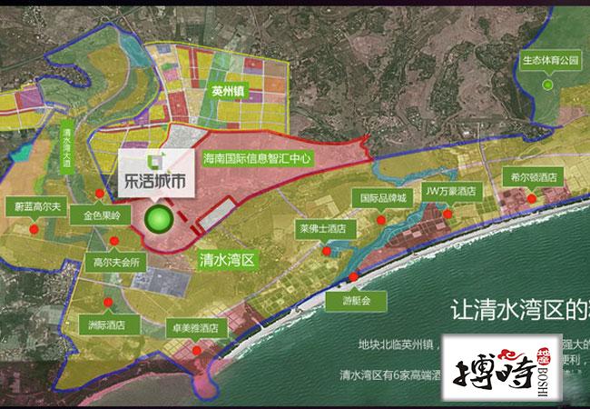 智汇城区位图
