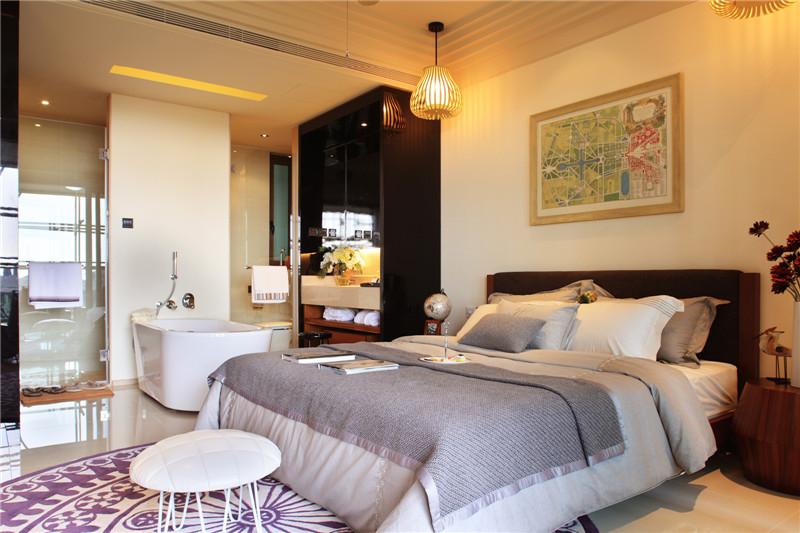 一期公寓A2-109平米卧室