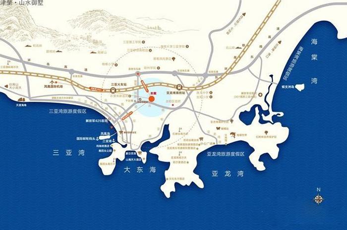 津蘭山水御墅区位图